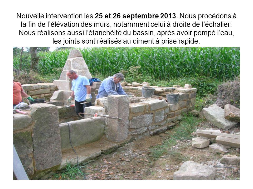 Nouvelle intervention les 25 et 26 septembre 2013