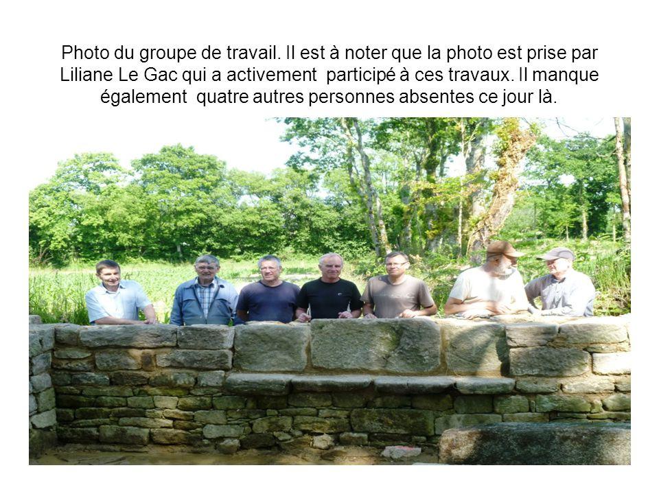 Photo du groupe de travail