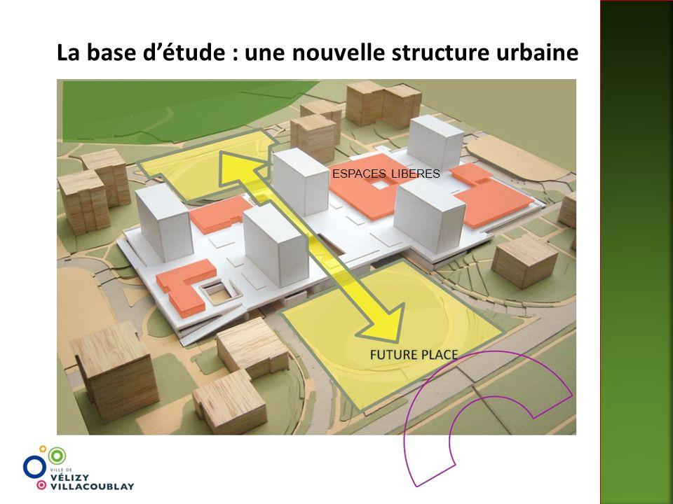 La base d'étude : une nouvelle structure urbaine