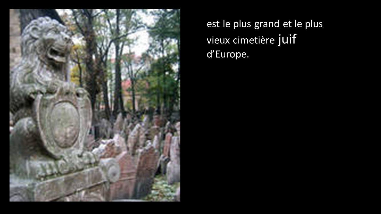 est le plus grand et le plus vieux cimetière juif d'Europe.