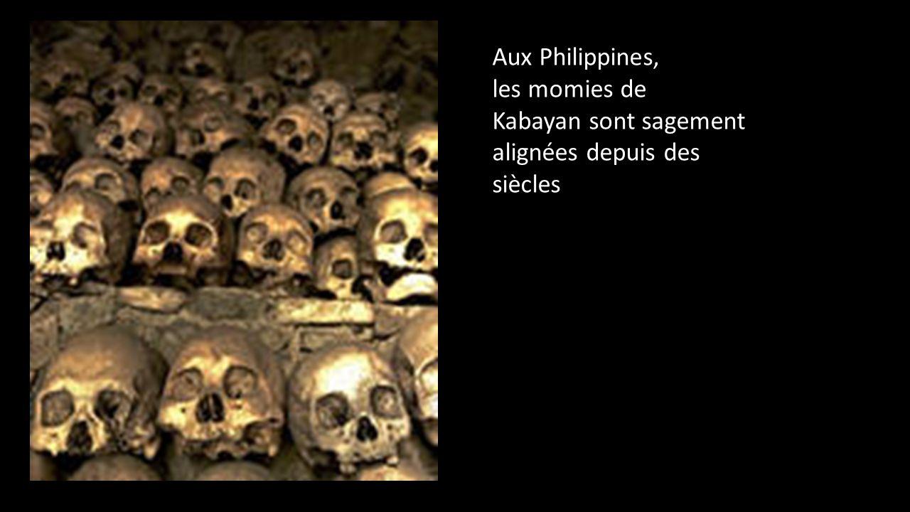 Aux Philippines, les momies de Kabayan sont sagement alignées depuis des siècles