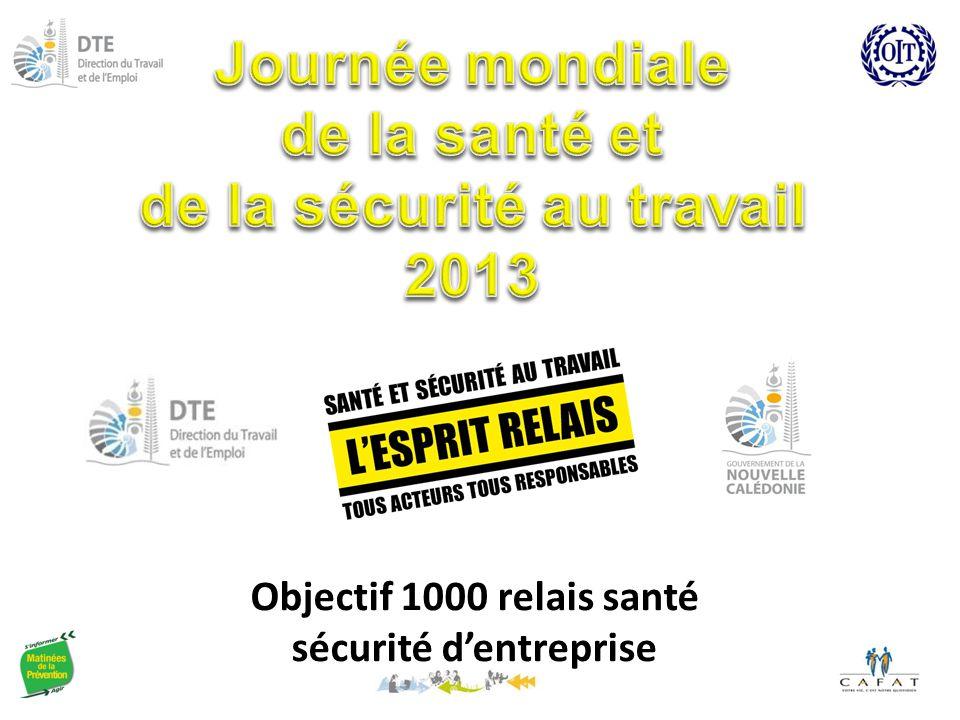 Journée mondiale de la santé et de la sécurité au travail 2013