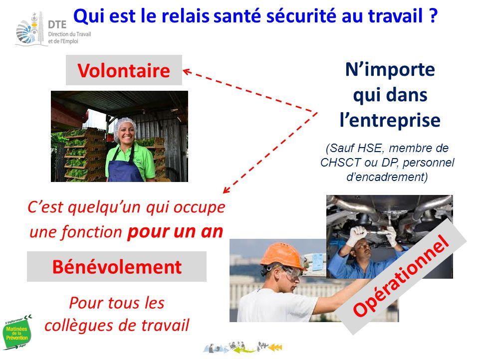 Qui est le relais santé sécurité au travail