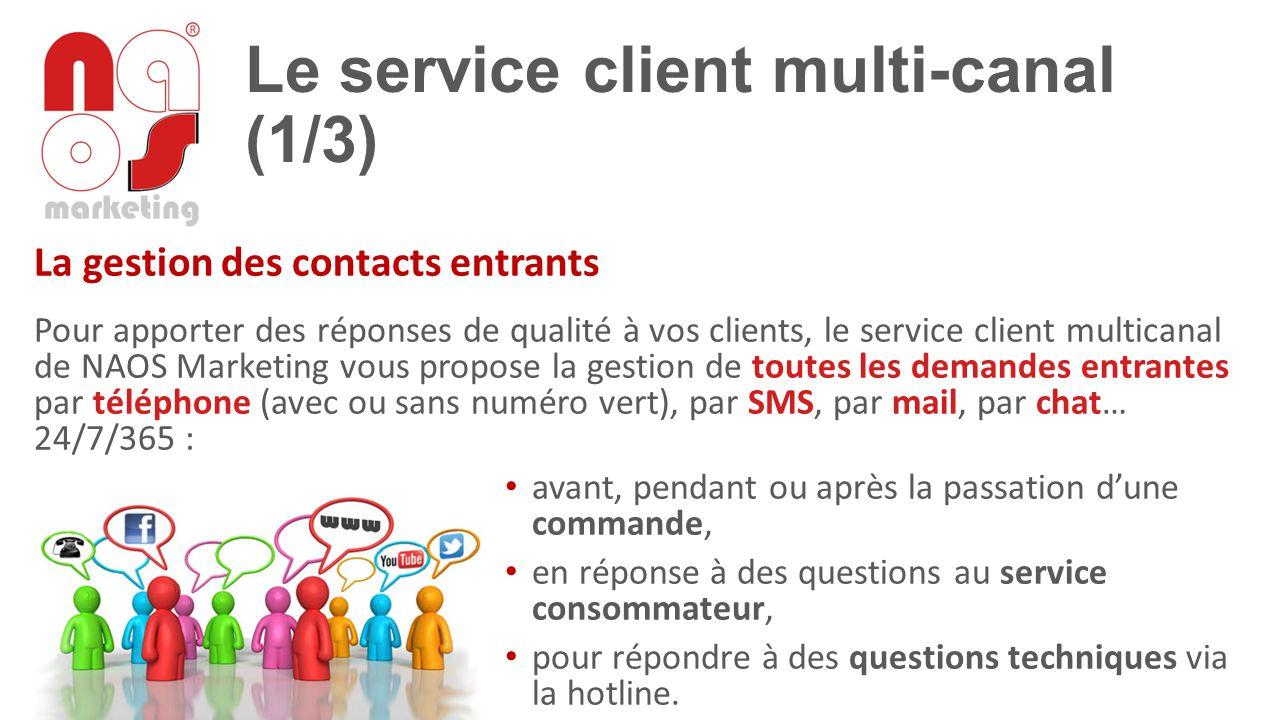Le service client multi-canal (1/3)