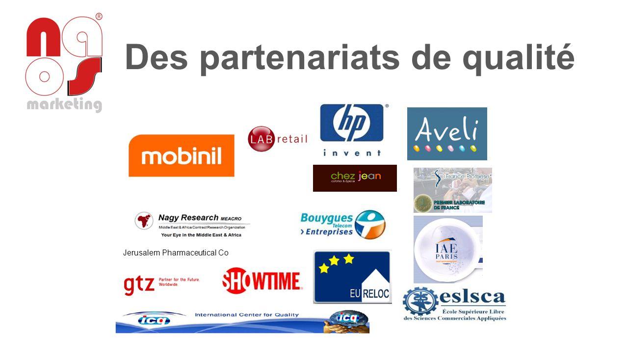 Des partenariats de qualité
