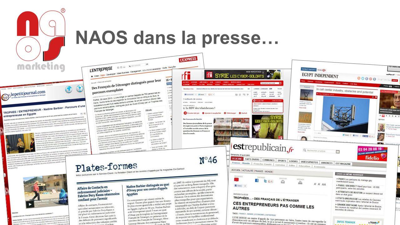 NAOS dans la presse…