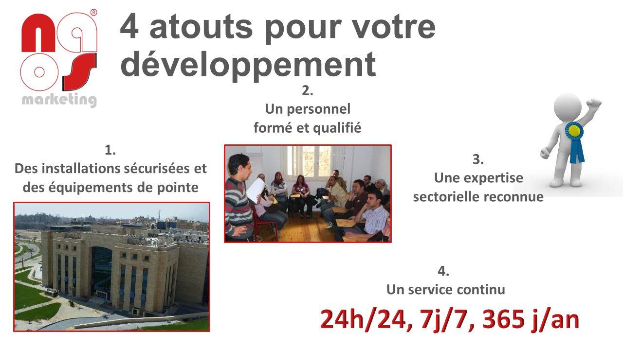 4 atouts pour votre développement