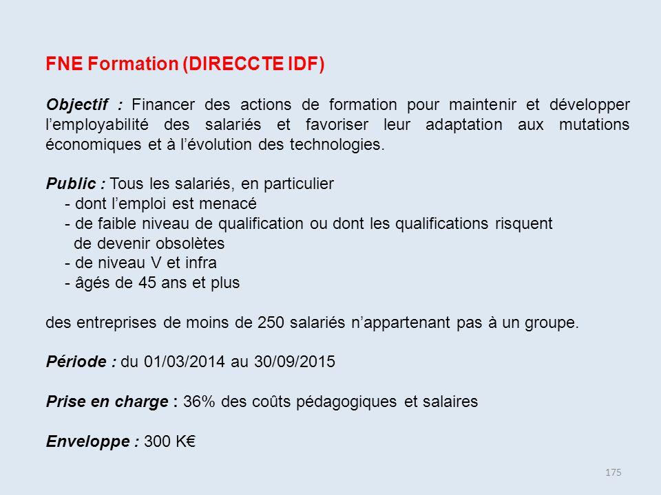 FNE Formation (DIRECCTE IDF)