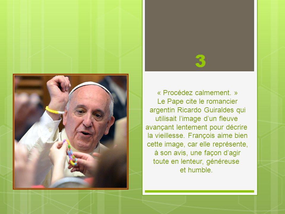 Le Pape cite le romancier argentin Ricardo Guiraldes qui