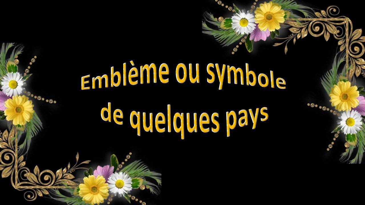 Emblème ou symbole de quelques pays