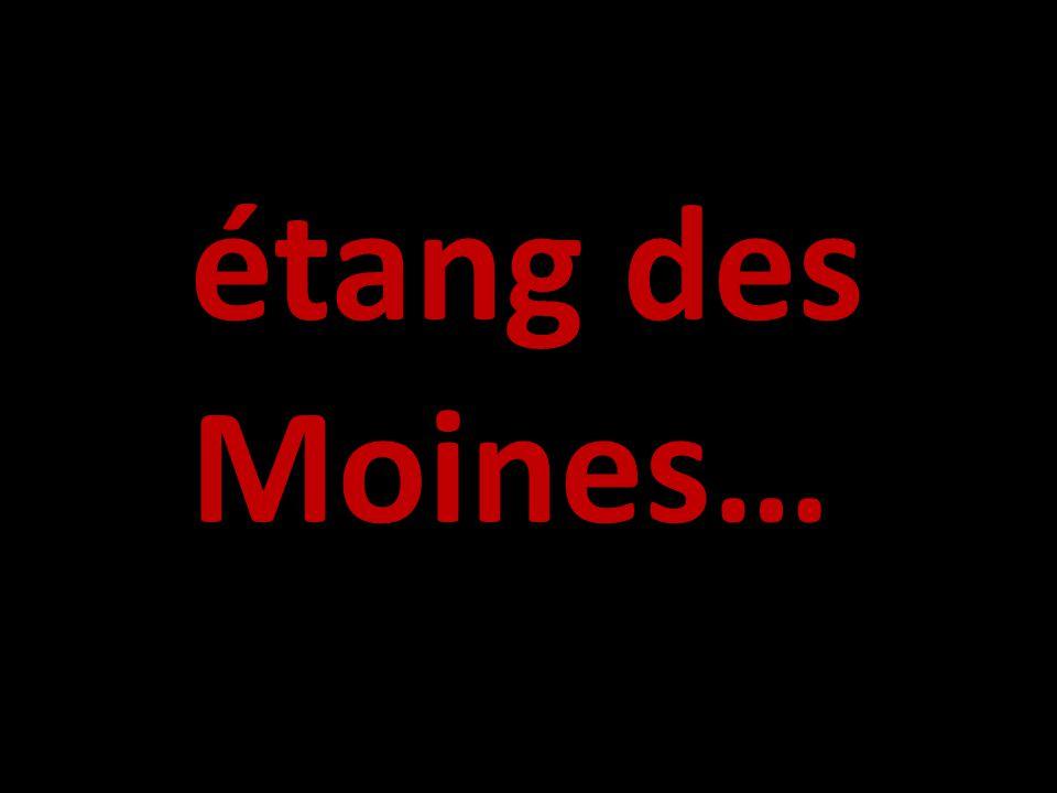 étang des Moines…