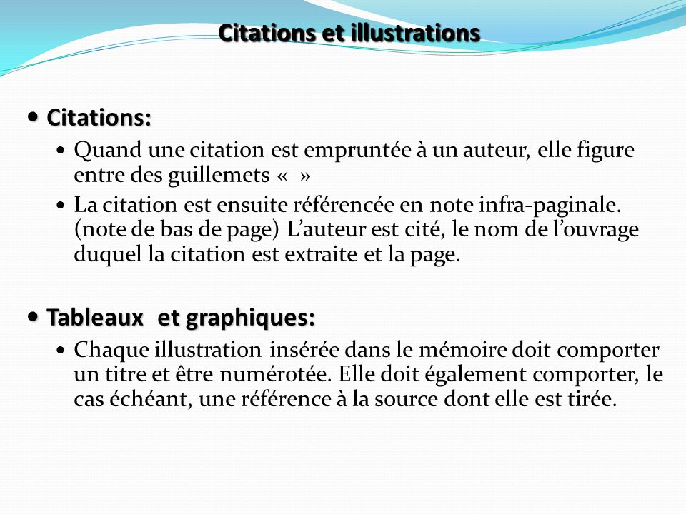 Citations et illustrations