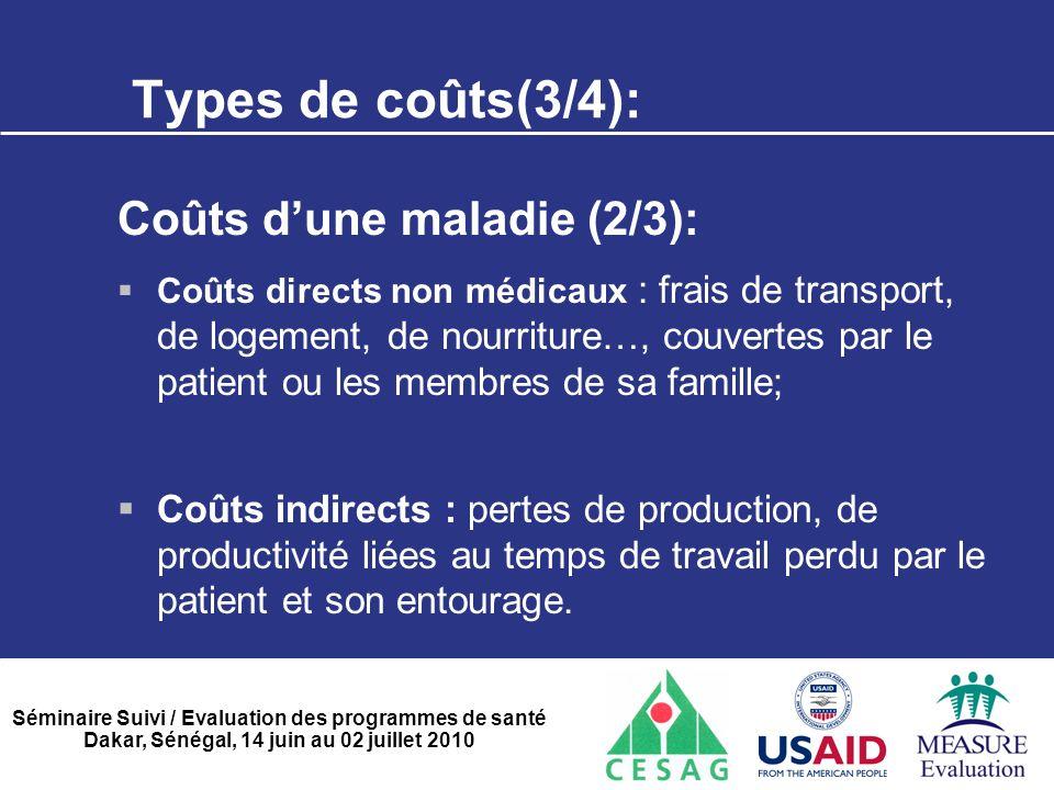 Types de coûts(3/4): Coûts d'une maladie (2/3):