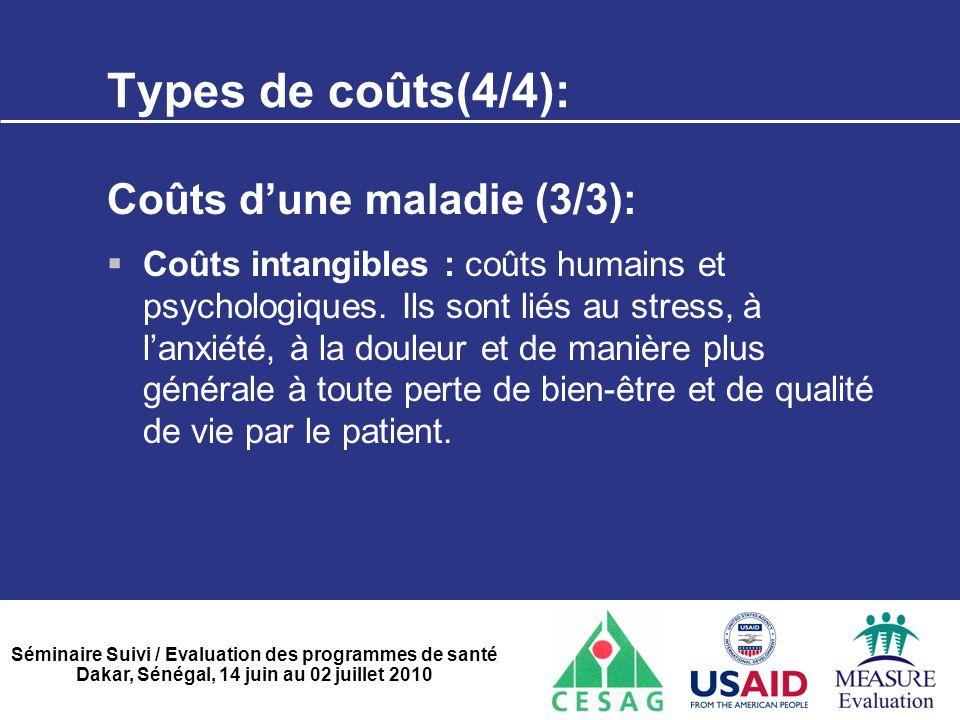 Types de coûts(4/4): Coûts d'une maladie (3/3):