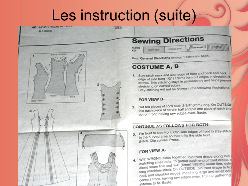 Les instruction (suite)