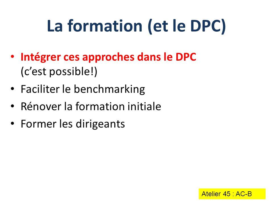 La formation (et le DPC)