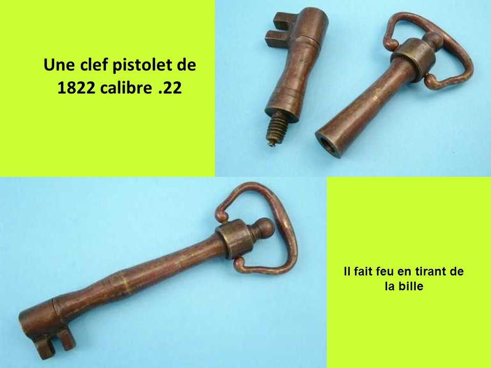 Une clef pistolet de 1822 calibre .22