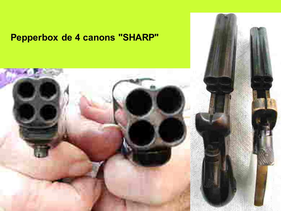 Pepperbox de 4 canons SHARP