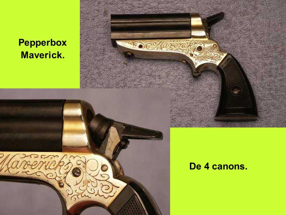 Pepperbox Maverick. De 4 canons.