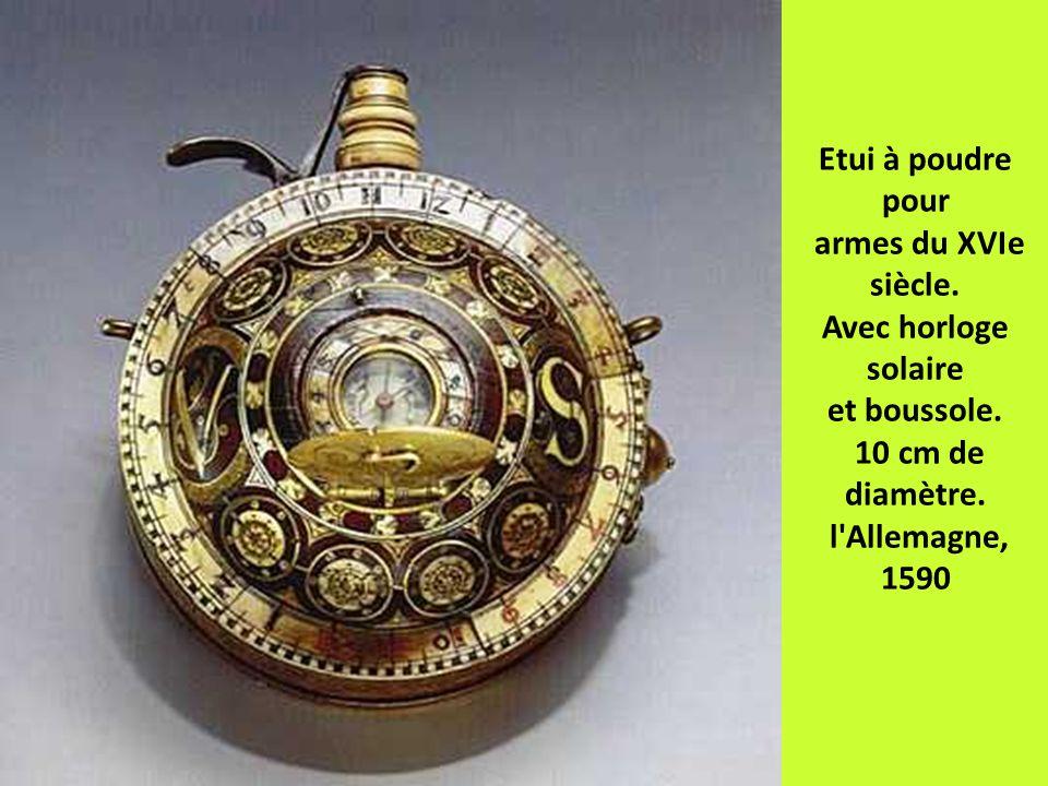 Etui à poudre pour armes du XVIe siècle