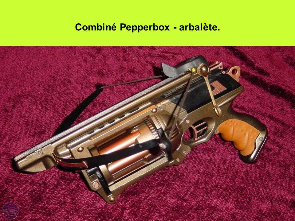 Combiné Pepperbox - arbalète.