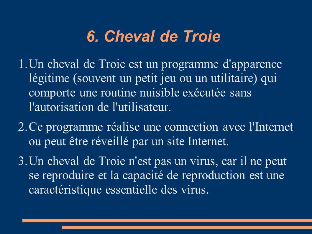 6. Cheval de Troie