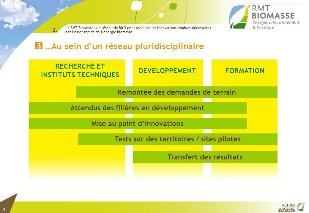 CHAMPS DU RMT BIOMASSE Energie… 1 Biomasse-Énergie