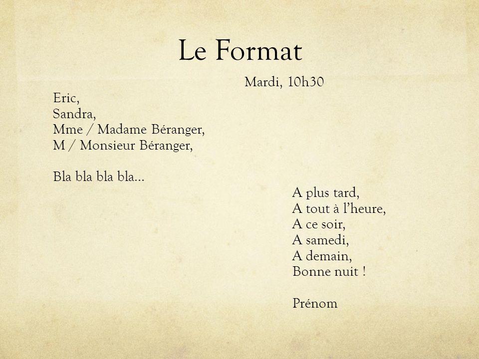 Le Format