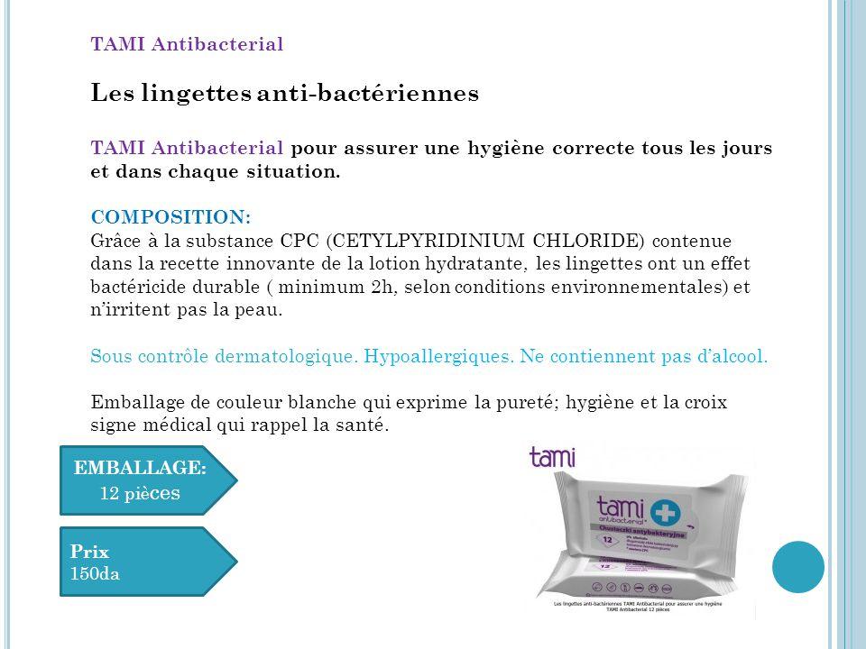 Les lingettes anti-bactériennes