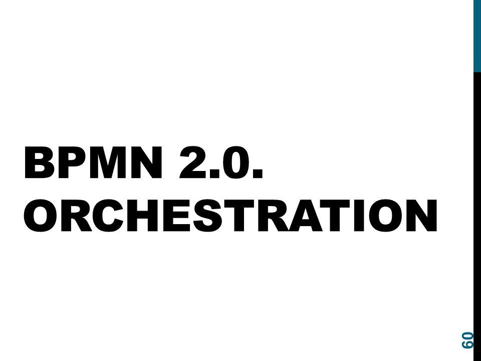 BPMN 2.0. Orchestration