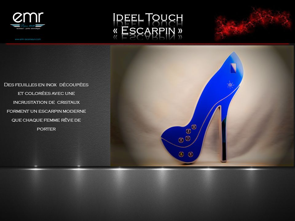 Ideel Touch « Escarpin »