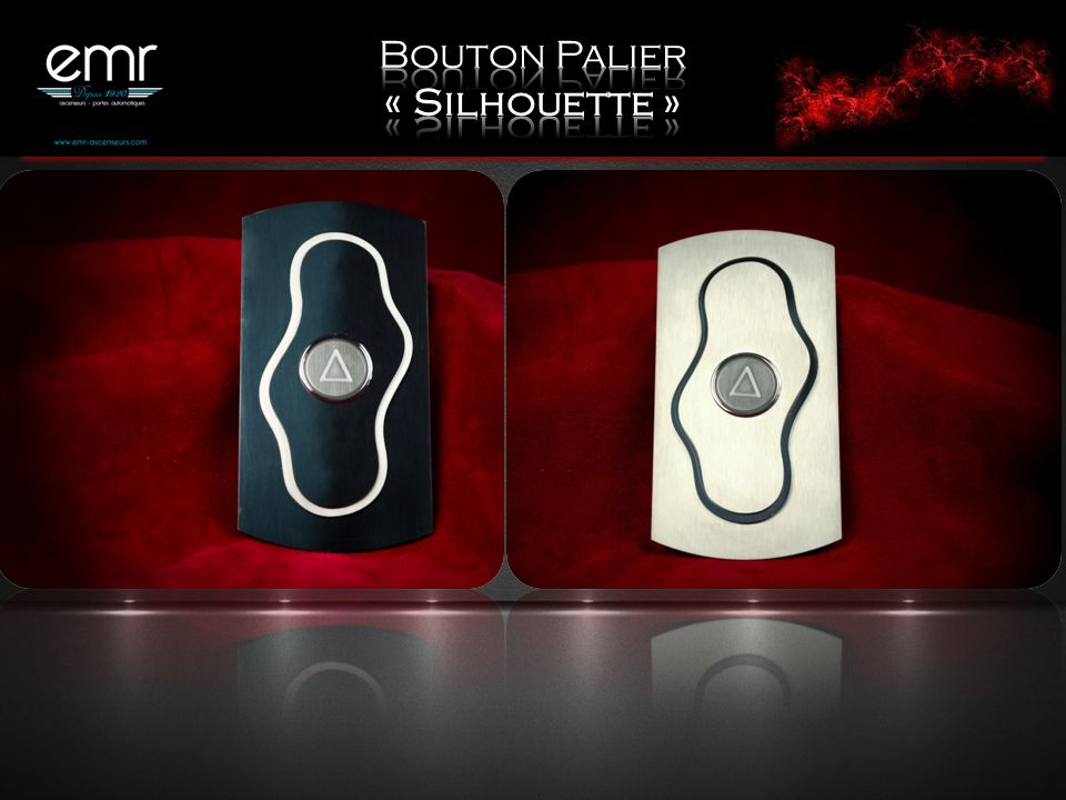 Bouton Palier « Silhouette »