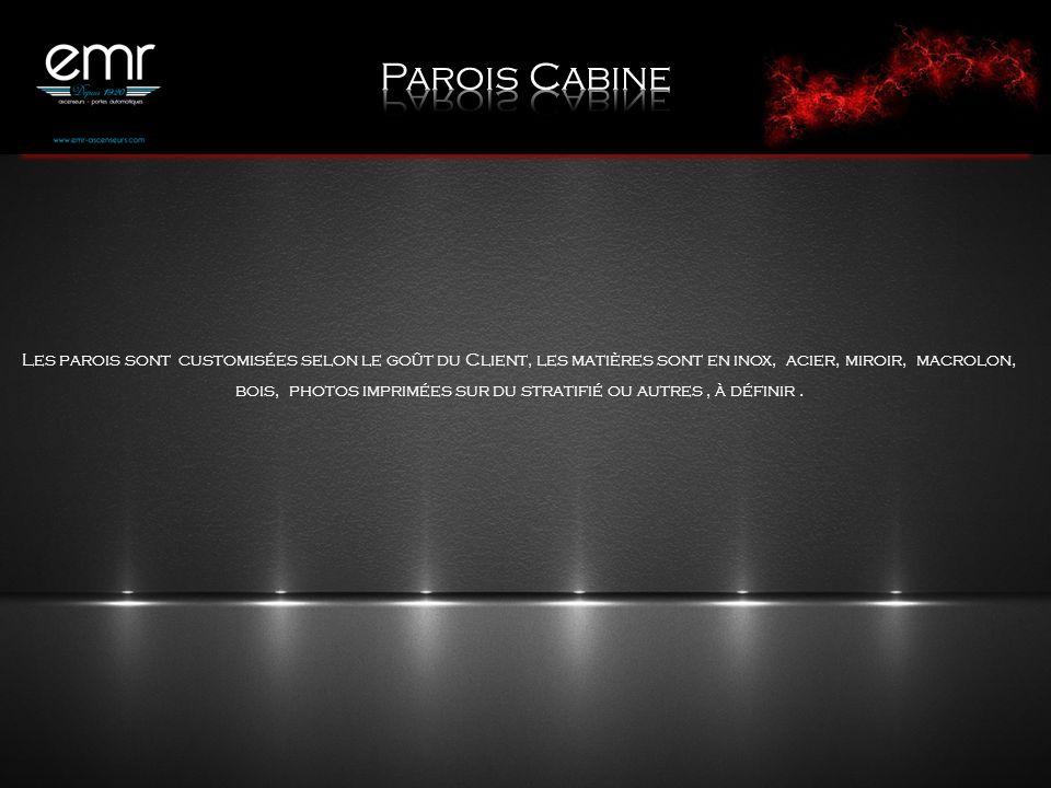 Parois Cabine