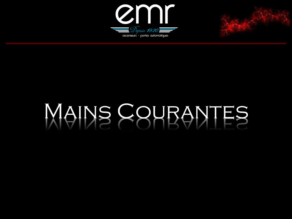Mains Courantes