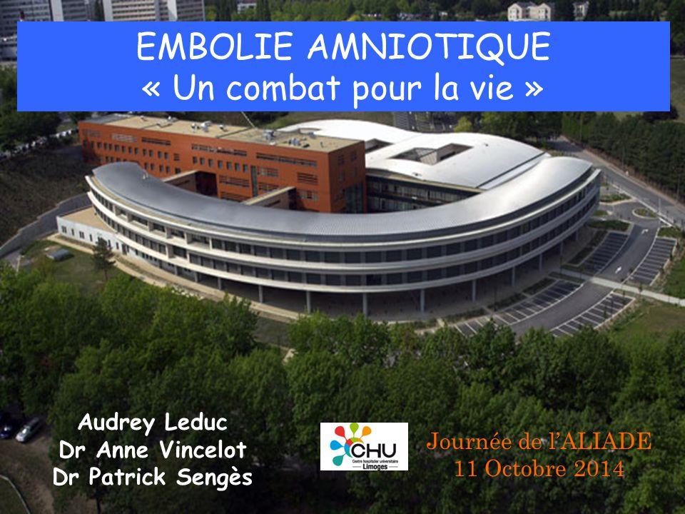 EMBOLIE AMNIOTIQUE « Un combat pour la vie » Audrey Leduc