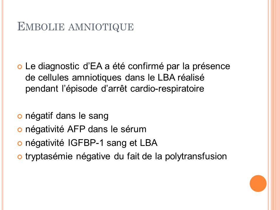 Embolie amniotique