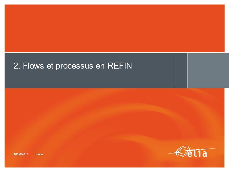 2. Flows et processus en REFIN