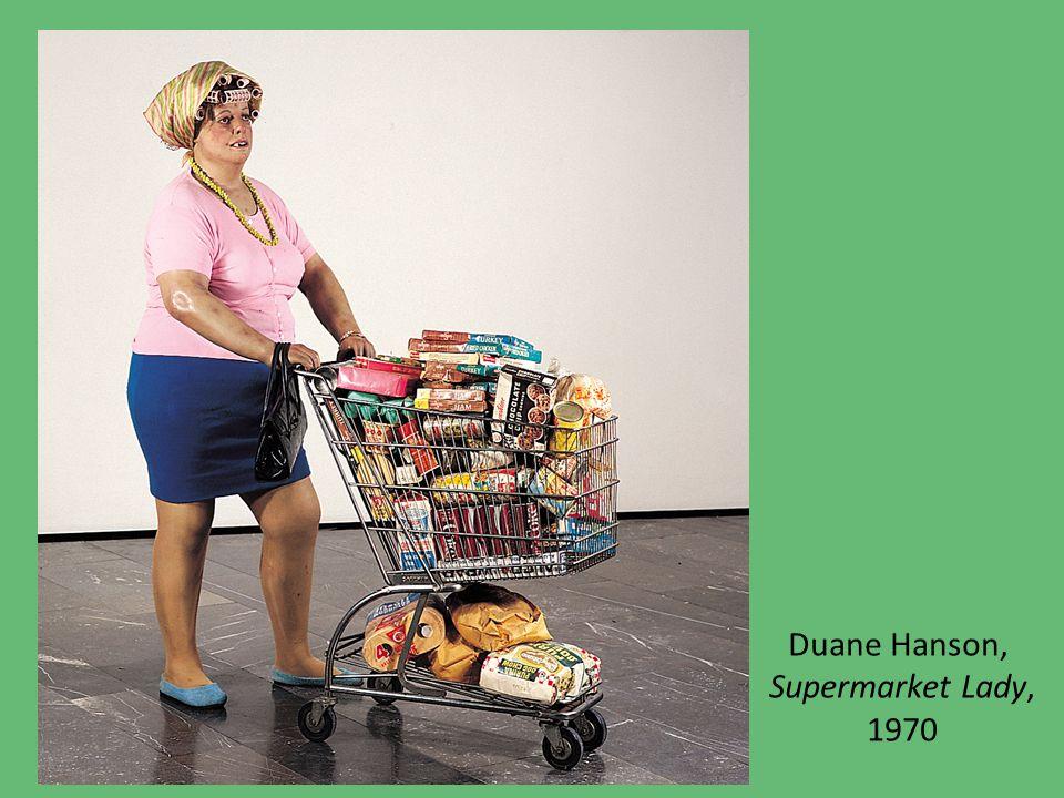 Duane Hanson, Supermarket Lady, 1970