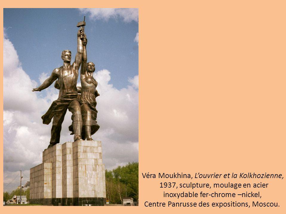 Véra Moukhina, L'ouvrier et la Kolkhozienne,
