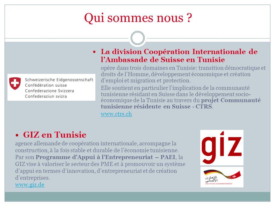 Qui sommes nous GIZ en Tunisie
