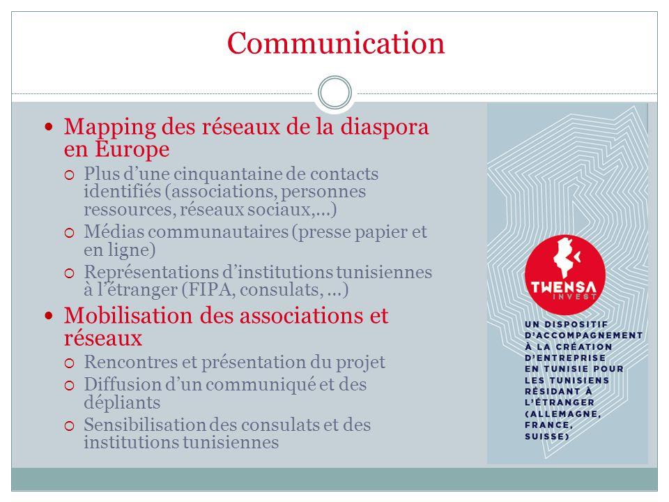Communication Mapping des réseaux de la diaspora en Europe