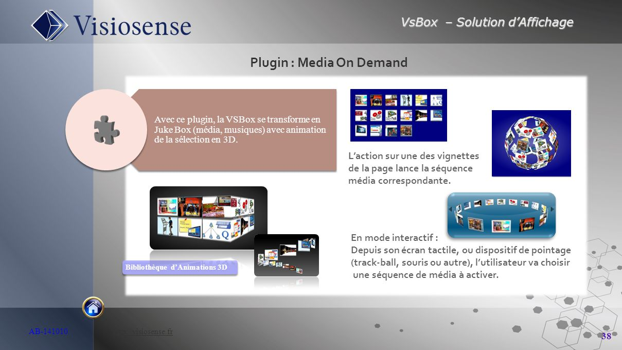 Plugin : Media On Demand