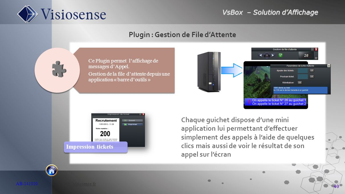 Plugin : Gestion de File d'Attente