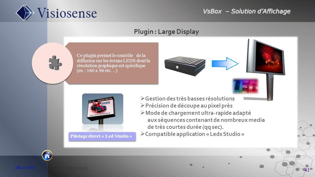 Plugin : Large Display Gestion des très basses résolutions