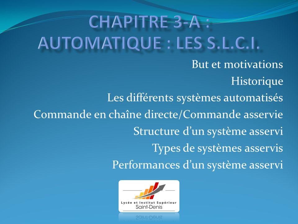 Chapitre 3-a : AUTOMATIQUE : LES S.L.C.I.
