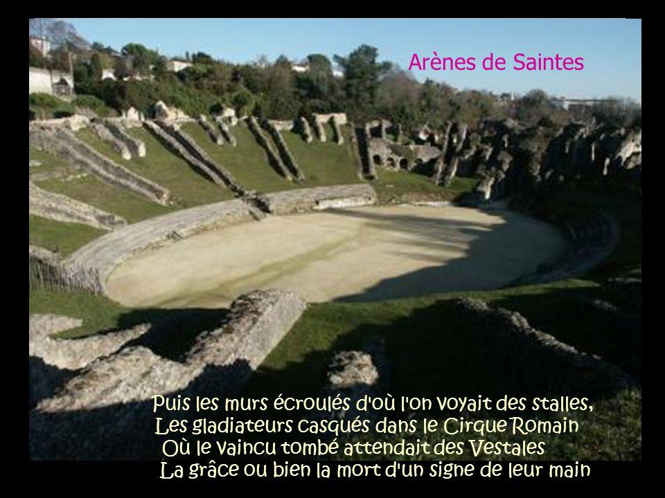 Arènes de Saintes