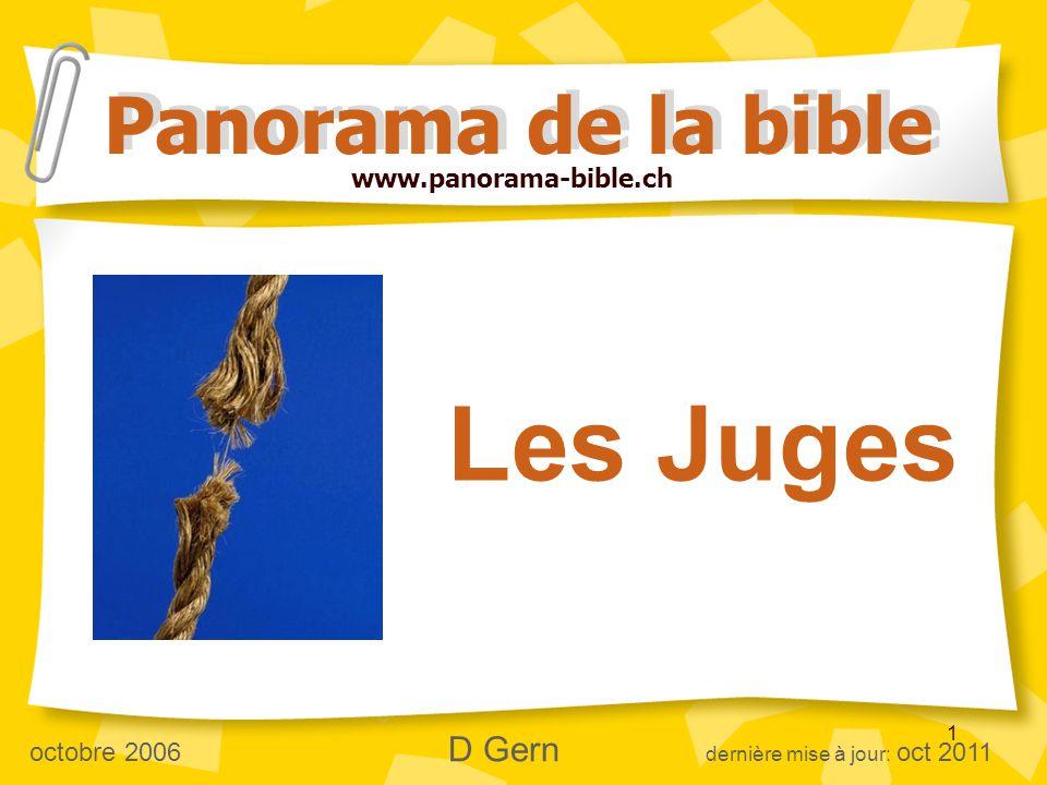 Les Juges Panorama de la bible www.panorama-bible.ch