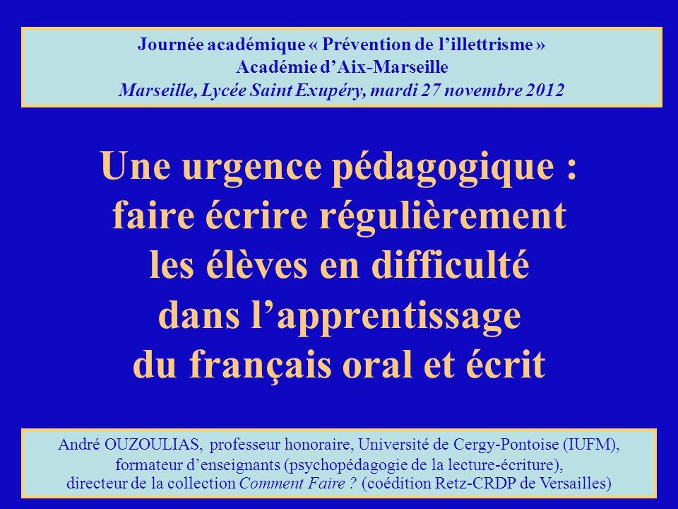 Journée académique « Prévention de l'illettrisme »