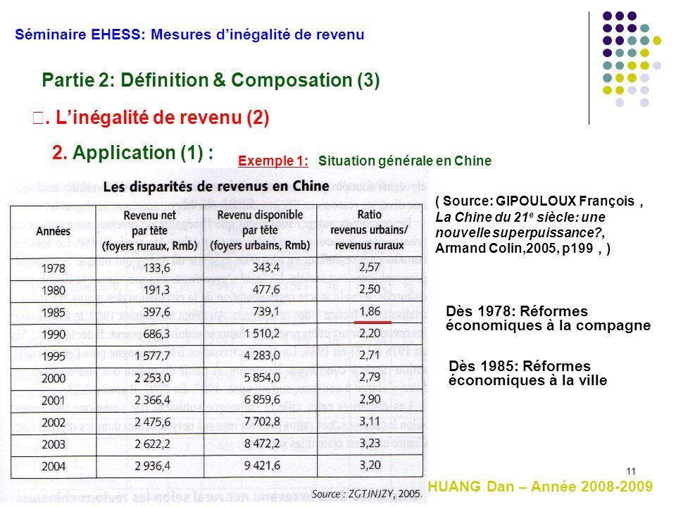 Partie 2: Définition & Composation (3)