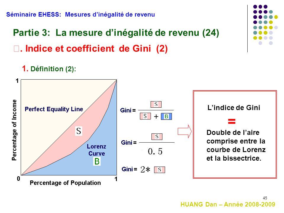 = Partie 3: La mesure d'inégalité de revenu (24)